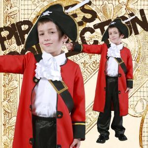 ハロウィンプレゼント付 キッズキャプテン 120 キッズ 女の子 男の子 ハロウィン 仮装 コスチューム コスプレ 衣装|arune