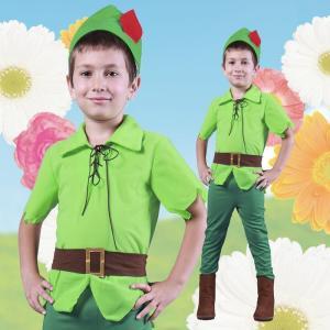 ファンタジーボーイ 100 ピーターパン キッズ 男の子 仮装 コスチューム コスプレ ハロウィン 衣装|arune