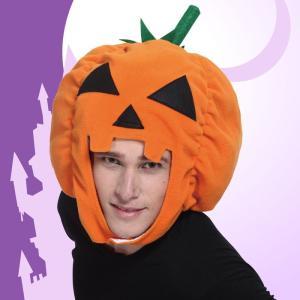 パンプキンヘッド ヘアアクセサリー ヘッドピース 髪飾り かぼちゃ 帽子 コスチューム コスプレ 衣装 仮装 ハロウィン|arune