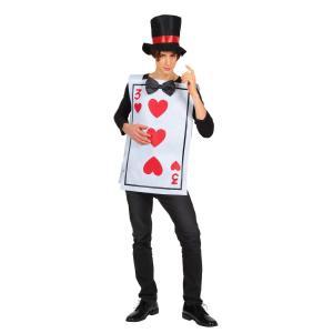 Mr.トランプ 男性 女性 メンズ レディース 不思議の国のアリス 衣装 コスプレ 仮装 コスチューム ハロウィン|arune