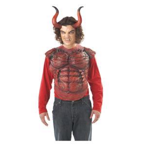 ヘリオン ホーン 悪魔の角 牙セット 悪魔の歯 ハロウィン 仮装 衣装 コスチューム|arune