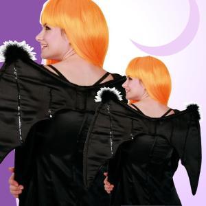 ウィッチウィング 魔女 悪魔 コウモリ 羽 羽根 翼 コスプレ ハロウィン 仮装 衣装 コスチューム|arune