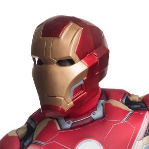 アイアンマン マーク43 マスク 2pc 大人 ルービーズ マーベル アベンジャーズ 衣装 ハロウィン コスチューム 仮装 コスプレ|arune