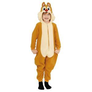 ハロウィンプレゼント付 子供 デールM 120-140cm対応 女の子 男の子 ディズニー チップとデール コスプレ 仮装 ハロウィン コスチューム 衣装|arune