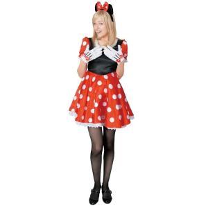 大人 ミニーマウス レディース 女性 ディズニー ハロウィン コスプレ 衣装 コスチューム 仮装|arune
