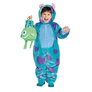 在庫僅少 子供 サリーTod 80-100cm対応 女の子 ディズニー モンスターズインク ハロウィン コスプレ コスチューム 仮装 衣装|arune