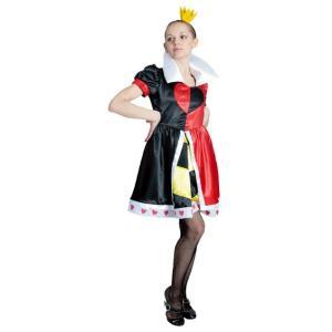 大人 ハートの女王 レディース 女性 不思議の国のアリス ハートの女王 ディズニー 衣装 ハロウィン コスチューム 仮装 コスプレ|arune
