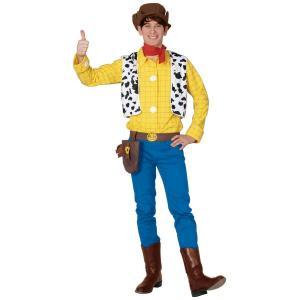 大人 ウッディー 男性 メンズ トイストーリー ディズニー ハロウィン 衣装 コスプレ コスチューム 仮装|arune