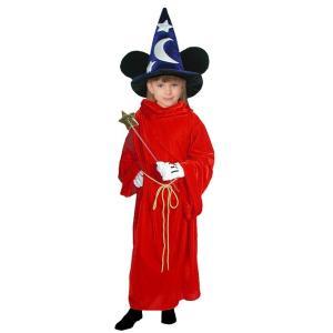 ハロウィンプレゼント付 子供 ファンタジアミッキー M 120-140cm対応 女の子 男の子 ディズニー ハロウィン 衣装 仮装 コスプレ コスチューム|arune