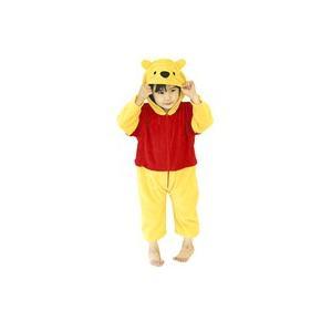 8月下旬入荷予約 ベビー用 プーさん Tod 80-100cm対応 女の子 男の子 くまのプーさん コスプレ 衣装 ハロウィン コスチューム 仮装|arune