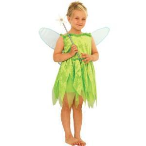 子供 ティンカーベルS 100-120cm対応 女の子 ディズニープリンセス 仮装 コスプレ ハロウィン コスチューム 衣装|arune