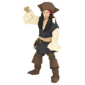 在庫限り 子供 ジャックスパロー Tod 80-100cm対応 男の子 ディズニー 衣装 仮装 コスチューム ハロウィン コスプレ|arune