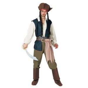 大人 ジャックスパロー パイレーツ・オブ・カリビアン 海賊 ジャック・スパロウ ディズニー 仮装 衣装 コスチューム ハロウィン コスプレ|arune