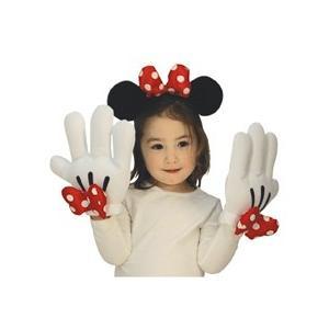 ディズニー ミニーカチューシャ&手袋セット ハロウィン コスプレ コスプレ 衣装 コスチューム 仮装 ハロウィン|arune