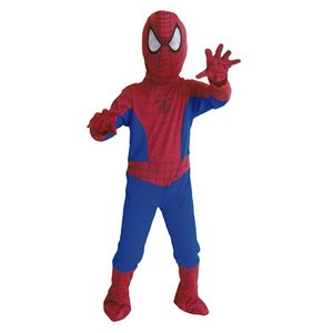 子供 スパイダーマンL 140-160cm対応 男の子 アメコミ ハロウィン 衣装 仮装 コスプレ コスチューム|arune
