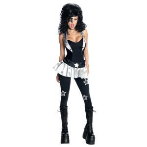 在庫限り KISSスターチャイルド レディース 女性 仮装 ハロウィン コスチューム 衣装 コスプレ|arune
