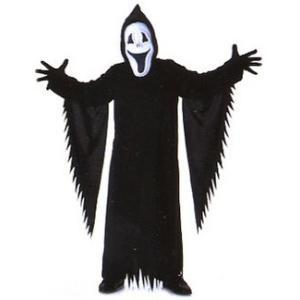 子供 スマイリーザゴースト S 100-120cm対応 女の子 男の子 衣装 ハロウィン 仮装 コスプレ コスチューム|arune