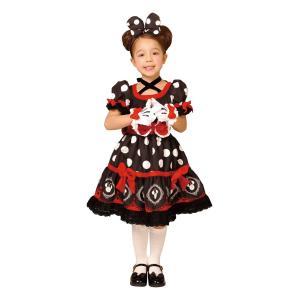 子供 ゴシックブラックミニー S 100-120cm対応 女の子 ディズニープリンセス 衣装 コスプレ ハロウィン 仮装 コスチューム|arune