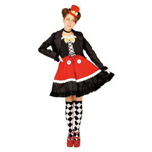 大人 ゴシックミッキー レディース 女性 ディズニー 仮装 コスチューム ハロウィン コスプレ 衣装|arune