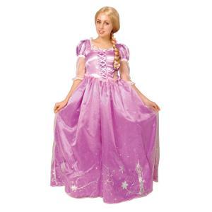 大人 ドレスアップラプンツェル レディース 女性 塔の上のラプンツェル ディズニー プリンセス 仮装 コスプレ 衣装 ハロウィン コスチューム|arune