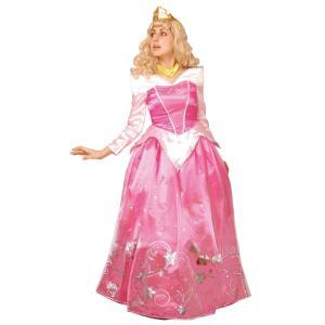 大人 ドレスアップオーロラ レディース 女性 ディズニー プリンセス 衣装 コスチューム コスプレ 仮装 ハロウィン|arune