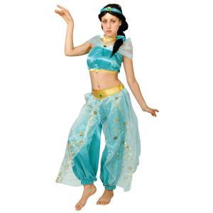 大人 ドレスアップジャスミン レディース 女性 ディズニー アラジン ディズニー プリンセス コスプレ ハロウィン 衣装 コスチューム 仮装|arune