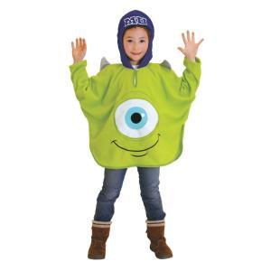 子供 マイクポンチョ 女の子 男の子 ディズニー モンスターズインク コスチューム 衣装 仮装 ハロウィン コスプレ|arune