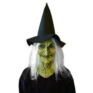 ウィッチハットマスク かぶりもの 仮面 魔女 仮装 衣装 コスプレ コスチューム ハロウィン|arune
