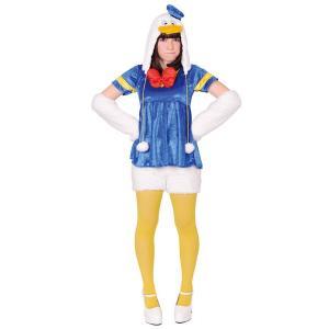 大人 モコモコドナルドダック ディズニー ドナルド デイジー 仮装 コスプレ コスチューム ハロウィン 衣装|arune