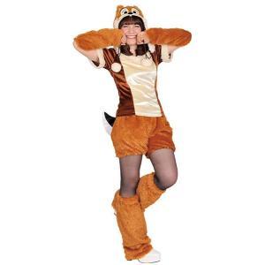 大人 モコモコチップ ディズニー チップとデール コスプレ 衣装 ハロウィン コスチューム 仮装|arune