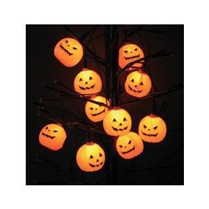 10ライトパンプキン LEDライト ハロウィン コスプレ 衣装 仮装 コスチューム|arune