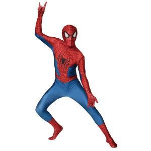 在庫限り 大人 アメイジングスパイダーマン2 スパイダーマン アメイジングスパイダーマン アメコミ 衣装 コスチューム コスプレ 仮装 ハロウィン|arune