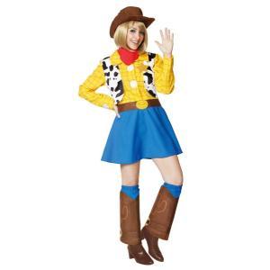 ウッディ レディース 女性 トイストーリー ディズニー コスプレ 衣装 コスチューム ハロウィン 仮装|arune