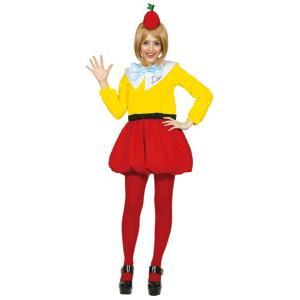 大人 トゥイードルディー レディース 女性 不思議の国のアリス ディズニー コスチューム 仮装 衣装 コスプレ ハロウィン|arune
