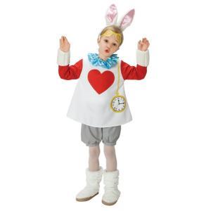 子供 スノーラビットS 100-120cm対応 女の子 男の子 アリス うさぎ ディズニー 衣装 ハロウィン コスプレ コスチューム 仮装|arune