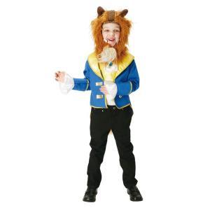 子供 ビーストM 120-140cm対応 女の子 男の子 ディズニー 美女と野獣 ベル 衣装 ハロウィン コスプレ 仮装 コスチューム|arune