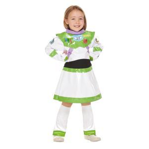 子供 バズライトイヤーガール S 100-120cm対応 トイストーリー ディズニー コスチューム ハロウィン コスプレ 仮装 衣装|arune