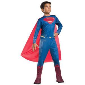 子供 スーパーマン BVS L 140-160cm対応 男の子 アメコミ コスチューム ハロウィン 衣装 仮装 コスプレ|arune