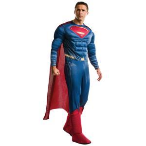 大人 デラックススーパーマン BVS 男性 メンズ アメコミ コスプレ コスチューム 衣装 ハロウィン 仮装|arune