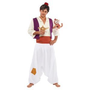メンズ アラジン 男性 メンズ ディズニー アラジンと魔法使い コスプレ ハロウィン 衣装 コスチューム 仮装|arune