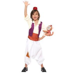 子供 アラジンM 120-140cm対応 女の子 男の子 キッズ ディズニー ハロウィン コスプレ コスチューム 仮装 衣装|arune