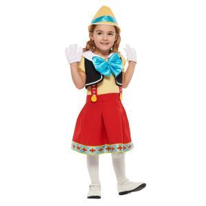 子供 ピノキオS 100-120cm対応 女の子 男の子 キッズ ディズニー 仮装 ハロウィン コスプレ 衣装 コスチューム arune