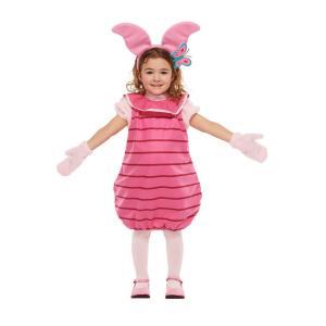 子供 ピグレットS 100-120cm対応 キッズ 女の子 ディズニー 仮装 衣装 ハロウィン コスプレ コスチューム|arune