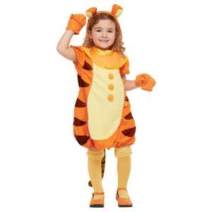 子供 ティガーM 120-140cm対応 女の子 ディズニー コスプレ 衣装 ハロウィン コスチューム 仮装|arune