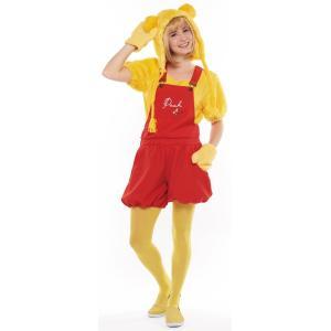 大人 カジュアルプー レディース 女性 かわいい ディズニー くまのプーさん 衣装 コスチューム 仮装 コスプレ ハロウィン|arune