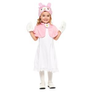 子供 マイメロディM 120-140cm対応 サンリオ キッズ 女の子 仮装 衣装 ハロウィン コスプレ コスチューム|arune