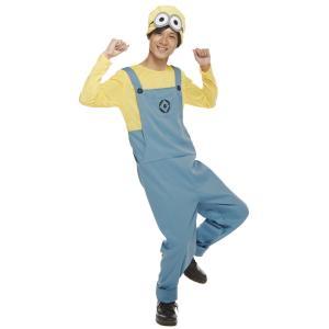 男性 デイブコスチューム(パンツ) メンズ 大人 ミニオン 公式ライセンス キャラクター コスチューム ハロウィン 仮装 衣装|arune