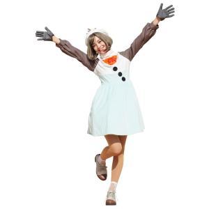 8月下旬入荷予約 大人用オラフ アナと雪の女王 ディズニー DISNEY ハロウィン レディース 仮装 衣装 コスチューム コスプレ|arune