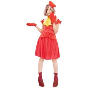 ハロウィンプレゼント付 大人用セバスチャン リトルマーメイド ディズニー DISNEY ハロウィン レディース 仮装 衣装 コスチューム コスプレ|arune