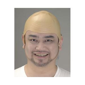 つるっパゲ はげかつら・はげづら・スキンヘッド・Bald Head ・仮装・変装・衣装・かつら|arune